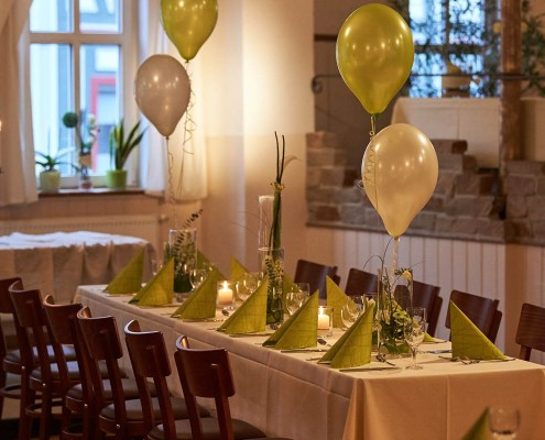 Saal im Plumbohm gasthaus & catering