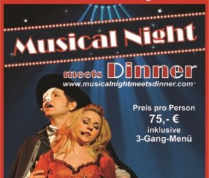 Musical meets Dinner im Plumbohm