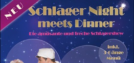 Schlager Night meets Dinner