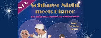 Schlager Night meets Dinner am 02. November 2019